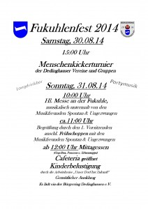 Einladung Fukuhlenfest 2014