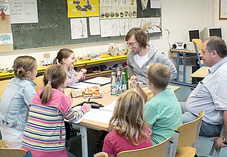 Für die D.a.-NWR im Einsatz: Leni Hagemann, Annika Schulte, Jule Menke, Jannik Husemann und Julian Schulte (Fotos)
