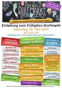 Dorfmarkt Mai 2017