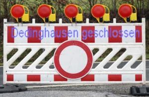 Dedinghausen geschlossen
