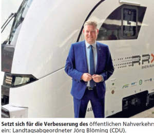 Bahn investiert - dazu J. Blömimg