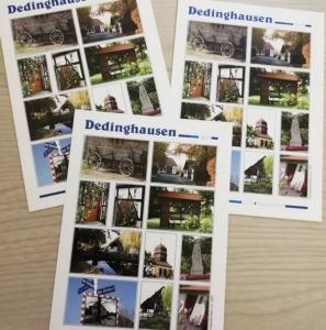 Postkarten Motiv Dedinghausen